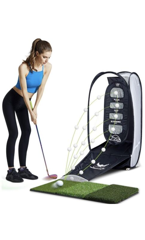 PREMIUM Golf Chipping Net- Great For Short Game Practice - U.S. Seller