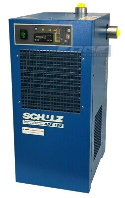 Schulz 100 Cfm Refrigerated Compressed Air Dryer 20hp 25 Hp Compressors 115v