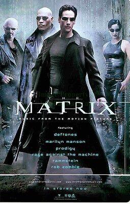 The Matrix: Music From: Neo, Trinity, Morpheus: Great Original Photo Print Ad!](Trinity From The Matrix)