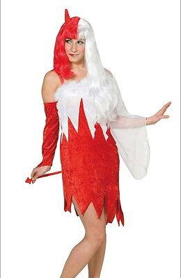 Kostüm Engel Teufel Teuflischer Engel Karneval Fasching Himmel & Hölle Größe - Himmel Engel Kostüm