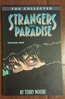 The Collected STRANGERS IN PARADISE Vol. 1 TPB by TERRY MOORE