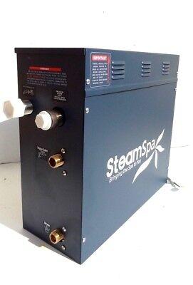 Steam Bath Steamspa S-750 Steam Generator 7500 Wattage 32 Amps 5060 Hertz 240 V
