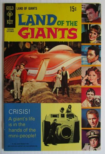 Land Of The Giants # 5 Comic Book 1969 Gold Key #5 Photo Cover TV Show