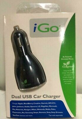 Used, iGo Dual USB Car Charger (273-0415) for sale  Shipping to South Africa