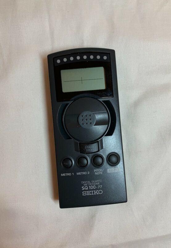 Seiko Digital Quartz Metronome, Model SQ100-77