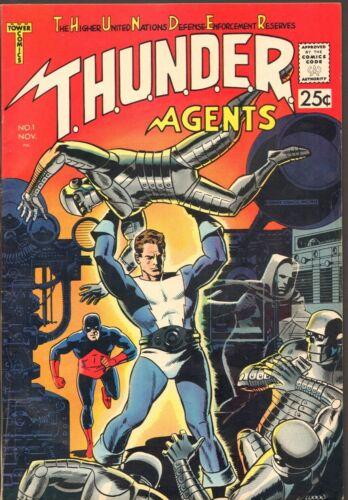 Thunder Agents #1 VF- (Tower Comics 1965)