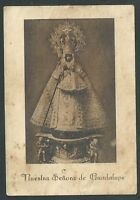 Estampa Antigua Virgen De Guadalupe Andachtsbild Santino Holy Card Santini -  - ebay.es