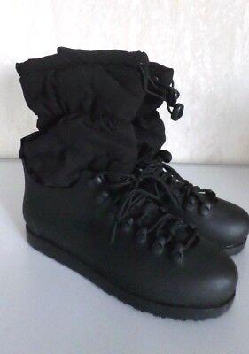 Schwarz Schnee Stiefel (Warme Damen Stiefel Schnee-/Winterstiefel Boots Galosche Schwarz Gr.39/40 NEU)
