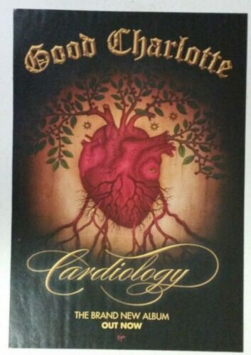 """GOOD CHARLOTTE """"Cardiology"""" Full Page promo PRINT AD magazine clipping oop"""