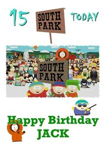 SOUTH-PARK-Personalised-Birthday-Card-LARGE-A5-any-name-age-son