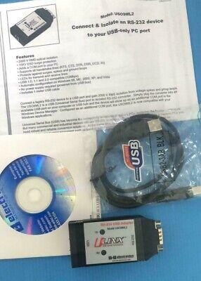 5pcs Bb Electronics Ulink Rs-232 Usb Adapter Model Uso9ml2