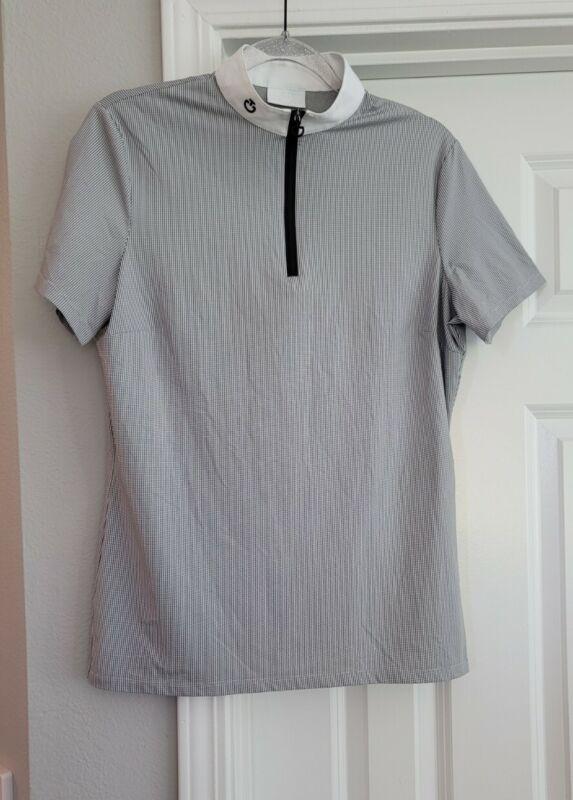Cavalleria Toscana show zip front shirt XL