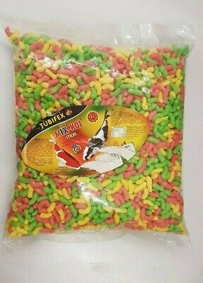 sch Futter Teichfutter Kois Goldfisch Schwimmfutter BUNT MIX (Bunte Goldfische)