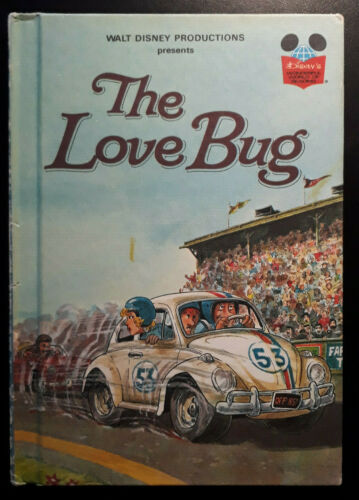 The Love Bug {VW Beetle} Walt Disney Book - Hardback 1979