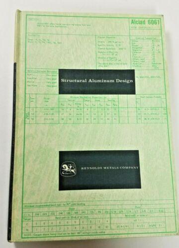 Vintage Reynolds Metals Company 1962 Structural Aluminum Design Karl Angermayer