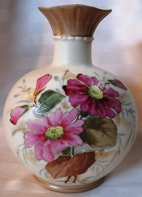 Royal Habsburg Vase, Hand Painted, early 1900's Back Stamp