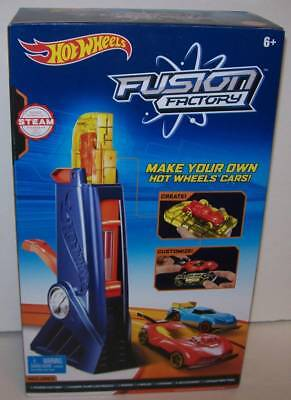 Hot Wheels Fusion Factory Car Maker Make Your Own Hot Wheels Cars Starter Kit