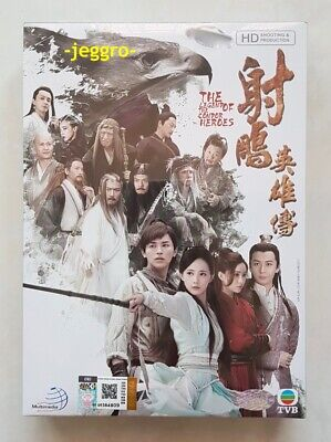 Chinese Drama DVD The Legend of the Condor Heroes 射雕英雄传 2017 HD Eng Sub Region