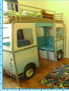 Kombi van bunk bed and desk Pine Creek Bundaberg Surrounds Preview