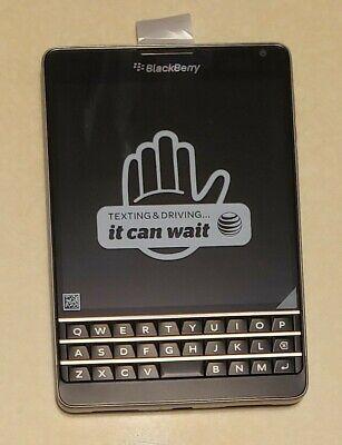 BlackBerry Passport - 32GB - Black - (AT&T) - Smartphone NEW IN BOX