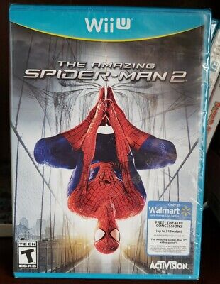 The Amazing Spider-Man 2 Wii U FACTORY SEALED. FREE SHIPPING. WALMART.read.
