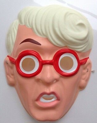 The Real Ghostbusters Halloween (Vintage The Real Ghostbusters EGON Spengler Mask Ben Cooper Halloween NEW)