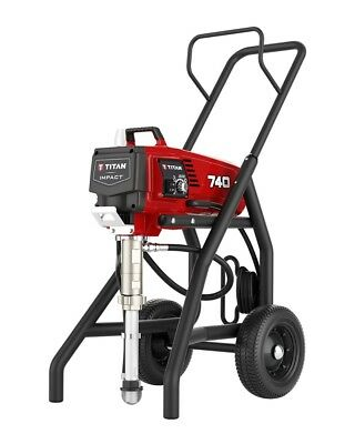 Titan 805-007 805007 Impact 740 High Rider Airless Paint Sprayer Complete