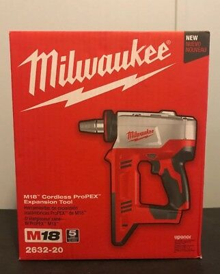 New Milwaukee M18 Cordless Propex Expansion Tool 2632-20 Bare Tool