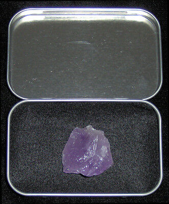 Purple Kryptonite Crystal Meteor Rock w/ Lead Case - Superman / Man of Steel