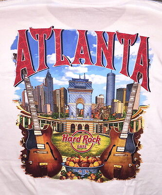Hard Rock Cafe ATLANTA 2017 City Tee T-SHIRT Mens Size XL NEW with HRC TAGS!