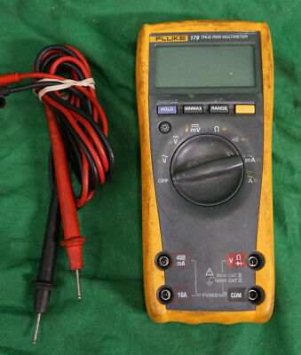 Fluke 179 True Rms Multimeter Digital Wleads