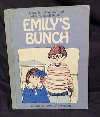 Vintage Children's Book - Emily's Bunch 1978 1st - Halloween Costume Party