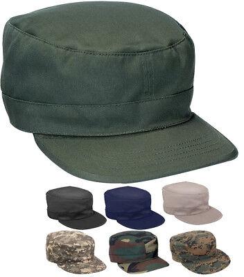 - Tactical Fatigue Hat Adjustable Army Military Field Patrol Cap M1951 BDU