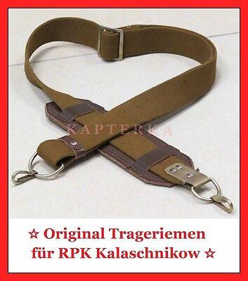 ☆ Original ☭ Sowjet Armee Trageriemen für RPK Kalaschinkow Maschinengewehr ☆