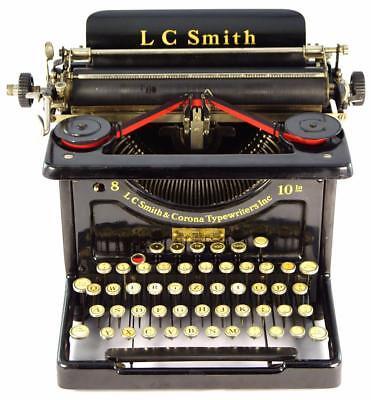 Máquina de escribir Marca LC Smith & Corona 8 -10 In Nº de serie 889263-10