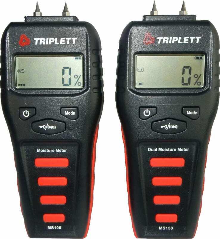 Triplett MS150 Dual Pin or Pinless Moisture Meter