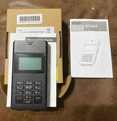 Pax D180 Pd40 Wireless Pos Credit Card Terminal Newzebra Pd40-100