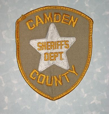 """Camden County Sheriff's Dept Patch - New Jersey - 3 3/4"""" x 4 5/8"""""""