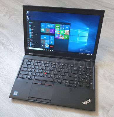 Lenovo ThinkPad P50 workstation, i7-6820HQ, 8GB/256SSD, Quadro M1000M -S82U