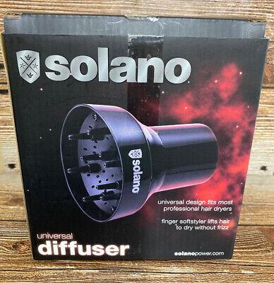 SOLANO Universal Diffuser Finger Softstyler (adatto alla maggior parte degli asciugacapelli professionali)
