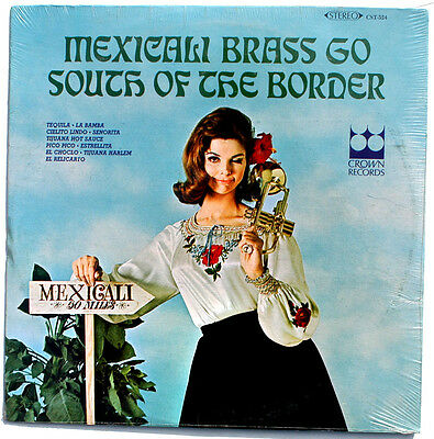 Sealed Mexicali Brass Go South Of The Border Lp Crown Records Cst524 Us