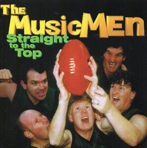 THE-MUSIC-MEN-STRAIGHT-TO-THE-TOP-CD-17-TRACKS-1998-AFL-FOOTBALL