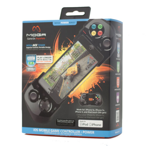 how to connect moga controller to iphone