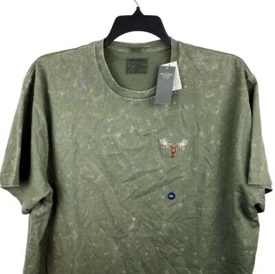 NWT - Abercrombie & Fitch Oversized XXL T-shirt Forrest Green