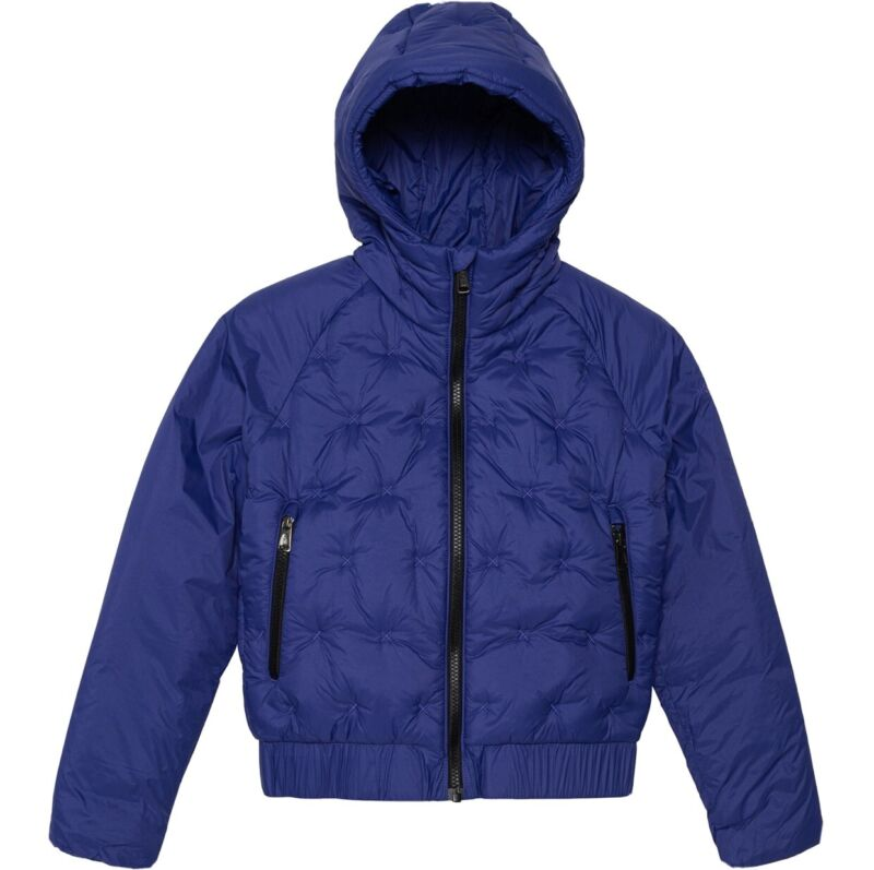 The North Face Girls Mashup Hooded Jacket Blue L 14/16