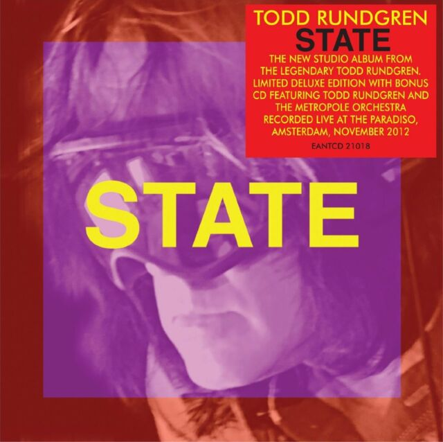 Todd Rundgren - State (2013)  Limited 2CD Deluxe Edition  NEW  SPEEDYPOST