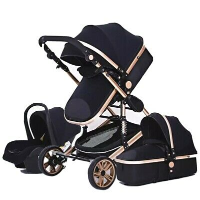 Baby Stroller 3 In 1 Portable Travel Carriage Baby Car seat and Stroller
