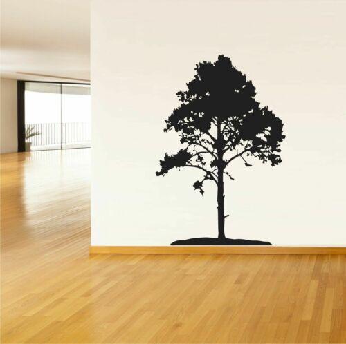 Wall Vinyl Sticker Decals Art Decor Tree Forest Night Romanc