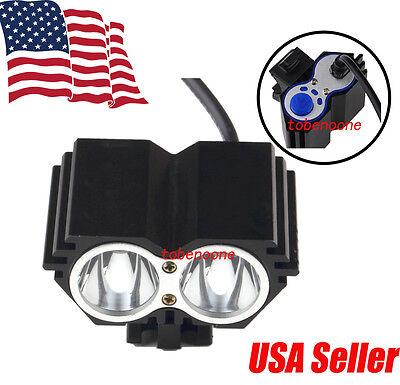 Купить 5000 Lumen 2 x CREE XM-L U2 LED Cycling Bike Bicycle Headlight Light HeadLamp TB