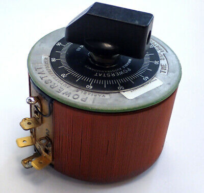 Superior 10b Powerstat Variable Transformer In 120v Out 0-120v 0-132v Tested